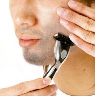 ゼロファクター,5αSPローション,カミソリで髭ヒゲを剃る