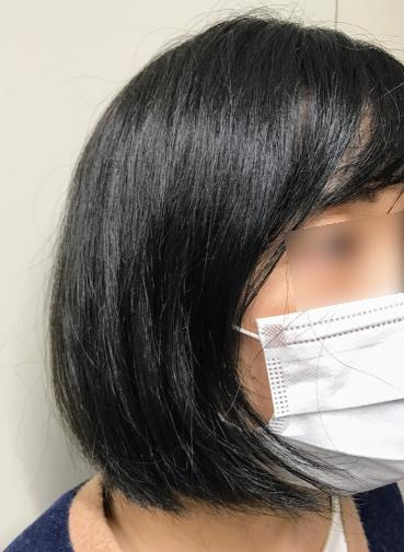 シンプリーストレート,ショップジャパン,ヘアアイロン,ヘアブラシ,使用後の髪